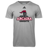 Adidas Climalite Sport Grey Ultimate Performance Tee-Arcadia Knights Stacked