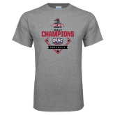 Grey T Shirt-2017 ECAC Softball Champions Diamond