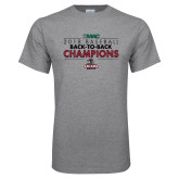 Grey T Shirt-2018 Baseball Champions