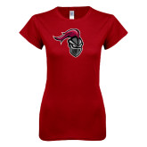 Next Level Ladies SoftStyle Junior Fitted Cardinal Tee-Knight