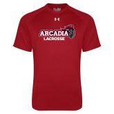 Under Armour Cardinal Tech Tee-Lacrosse
