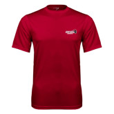 Performance Cardinal Tee-Official Logo