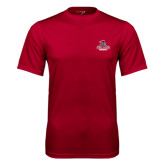 Performance Cardinal Tee-Arcadia Knights Stacked