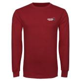 Cardinal Long Sleeve T Shirt-Official Logo