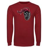 Cardinal Long Sleeve T Shirt-Knight