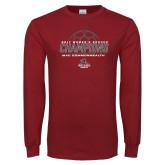 Cardinal Long Sleeve T Shirt-2017 Womens Soccer Champions