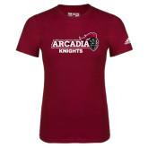 Adidas Cardinal Logo T Shirt-Official Logo