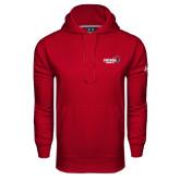 Under Armour Cardinal Performance Sweats Team Hoodie-Official Logo