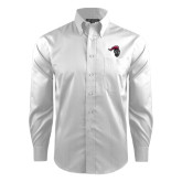 Red House White Dobby Long Sleeve Shirt-Knight