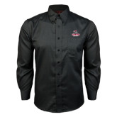 Red House Black Long Sleeve Shirt-Arcadia Knights Stacked