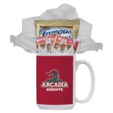 Cookies N Cocoa Gift Mug-Arcadia Knights Stacked