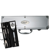 Grill Master 3pc BBQ Set-Official Logo Engraved
