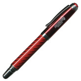 Carbon Fiber Red Rollerball Pen-Official Logo Engraved
