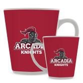 Full Color Latte Mug 12oz-Arcadia Knights Stacked