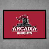 Full Color Indoor Floor Mat-Arcadia Knights Stacked