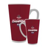 Full Color Latte Mug 17oz-2017 ECAC Softball Champions Stencil