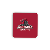 Hardboard Coaster w/Cork Backing-Arcadia Knights Stacked