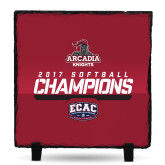 Photo Slate-2017 ECAC Softball Champions Stencil