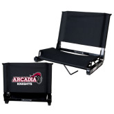 Stadium Chair Black-Official Logo