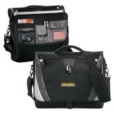 Slope Black/Grey Compu Messenger Bag-Northern Arizona University Stacked