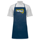 Full Length Navy Apron-NAU Primary Mark