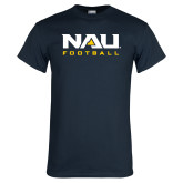 Navy T Shirt-Football