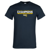 Navy T Shirt-Big Sky Conference Champions