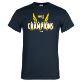 Navy T Shirt-NCAA Division I Mens Cross Country Champions