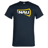 Navy T Shirt-NAU Primary Mark