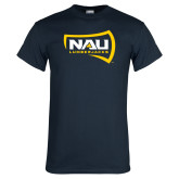 Navy T Shirt-NAU Lumberjacks