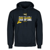 Navy Fleece Hoodie-2017 NCAA Division I Mens Cross Country Champions
