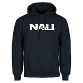 Navy Fleece Hoodie-NAU