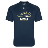 Under Armour Navy Tech Tee-Cross Country Shoe Design