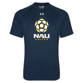 Under Armour Navy Tech Tee-Soccer Ball Design
