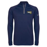 Under Armour Navy Tech 1/4 Zip Performance Shirt-NAU Lumberjacks
