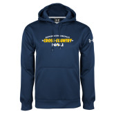 Under Armour Navy Performance Sweats Team Hoodie-Cross Country Arrow Design