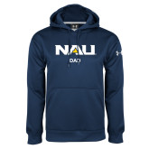 Under Armour Navy Performance Sweats Team Hoodie-Dad