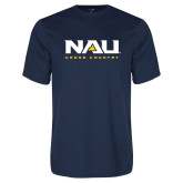 Performance Navy Tee-Cross Country