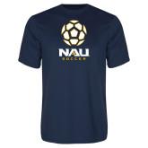 Syntrel Performance Navy Tee-Soccer Ball Design
