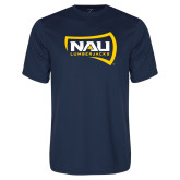 Performance Navy Tee-NAU Lumberjacks