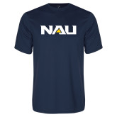 Performance Navy Tee-NAU