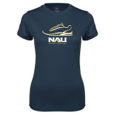 Ladies Syntrel Performance Navy Tee-Cross Country Shoe Design