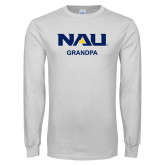 White Long Sleeve T Shirt-Grandpa