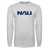 White Long Sleeve T Shirt-NAU