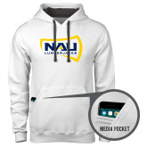 Contemporary Sofspun White Hoodie-NAU Lumberjacks