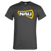 Charcoal T Shirt-NAU Primary Mark