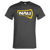 Charcoal T Shirt-NAU Lumberjacks