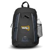 Impulse Black Backpack-NAU Primary Mark