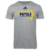 Adidas Sport Grey Logo T Shirt-NAU Lumberjacks