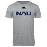 Adidas Sport Grey Logo T Shirt-NAU